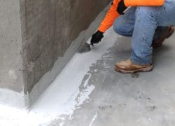 EFFECTIVE POSITIVE & NEGATIVE CEMENTITIOUS WATERPROOFING IN NEW CONSTRUCTION & RESTORATION