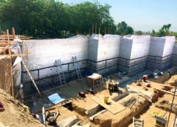 Self-Sealing Bentonite Waterproofing Ensures Positive Puncture Protection Under Hydrostatic Conditions