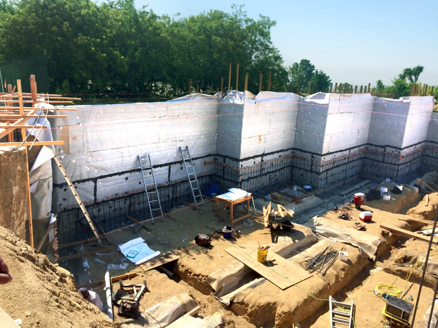 Bentonite Waterproofing Membrane : Bentonite clay waterproofing membrane tite w r