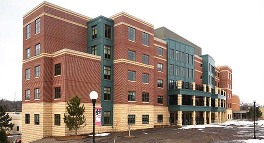 Minneapolis Veterans Home Building- Air Barrier Case Study 5