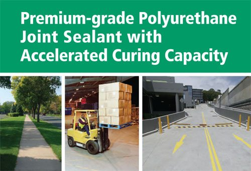 Premium-grade Polyurethane Joint Sealant with Accelerated Curing Capacity