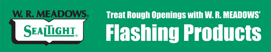 Window Flashing Products to Treat Rough Openings