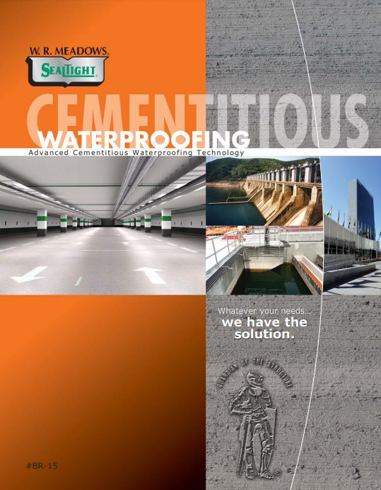 Cementitious Waterproofing Brochure