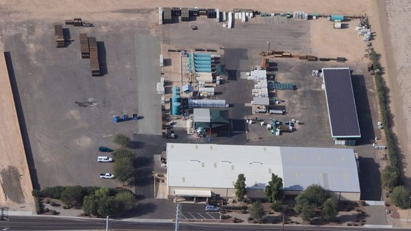 aerial of Goodyear plant