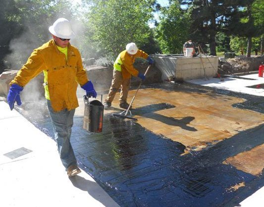 Hrm 714 Hot Applied Rubberized Asphalt Membrane W R