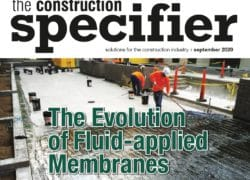 The Evolution of Fluid-Applied Membranes – The Construction Specifier (09/20)