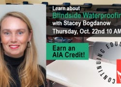 stacey AIA blindside waterproofing oct 22 2020